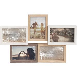 5er Collage-Bilderrahmen Mixed Colours