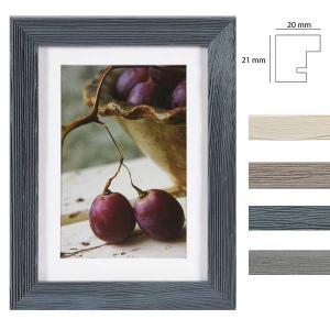 Holz-Bilderrahmen Deco mit Passepartout