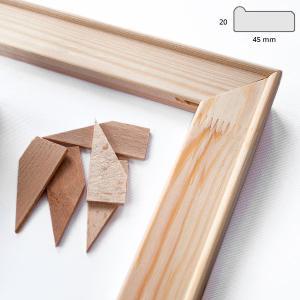 Keilrahmenleisten 4,5x1,9 cm