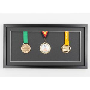 Medaillenrahmen 25x50 cm, schwarz