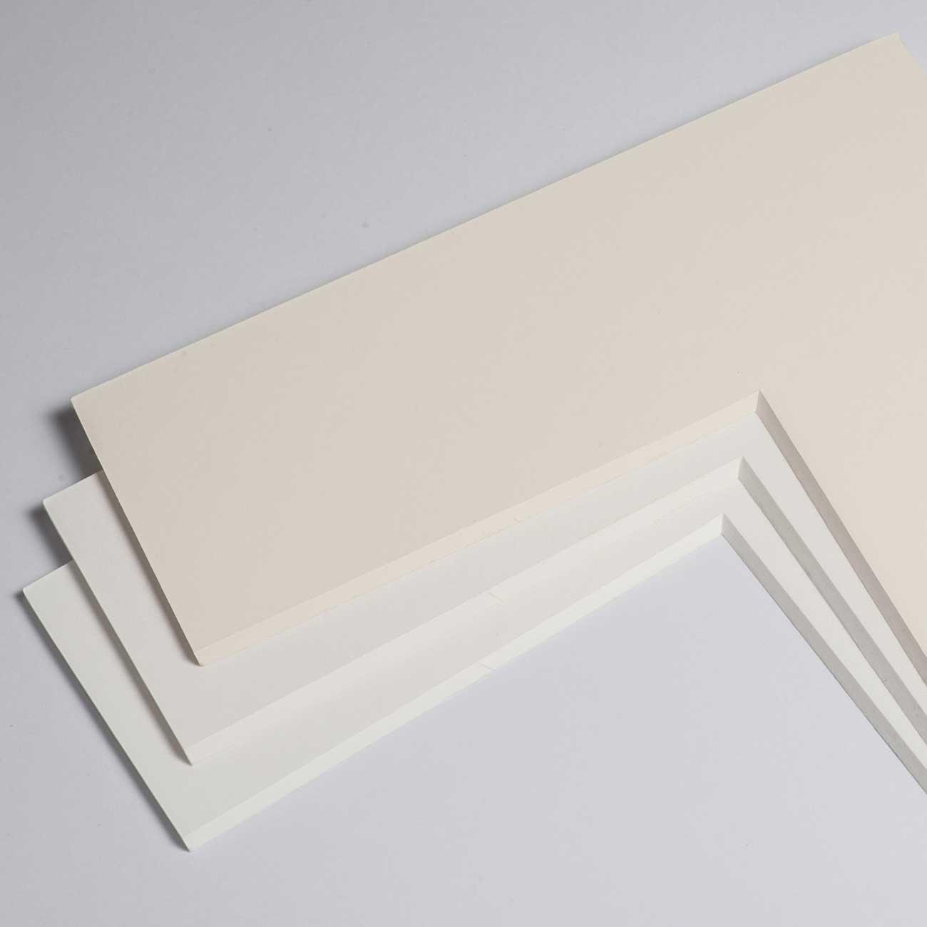 3,2 mm Baumwoll-Passepartout mit individuellem Ausschnitt