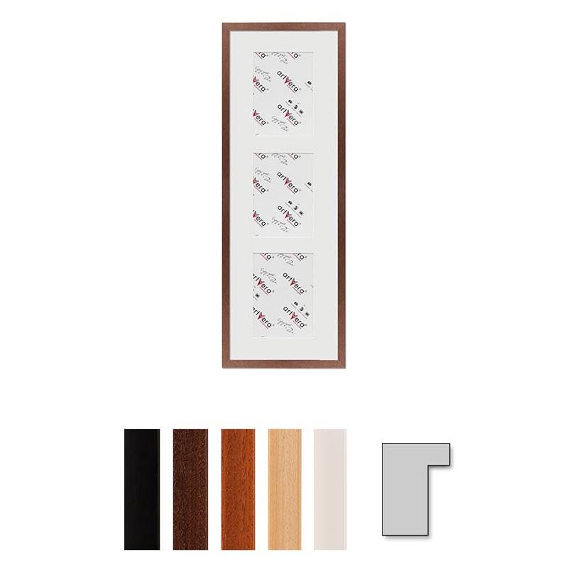 "3er Galerierahmen ""Lund"", 23x70 cm - 13x18 cm"