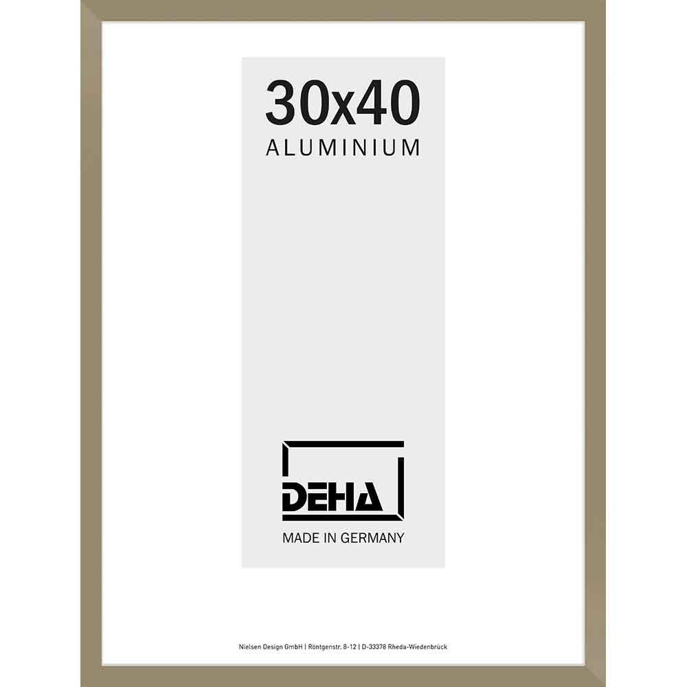 Alurahmen Bellatrix 60x70 cm | Altsilber | Normalglas