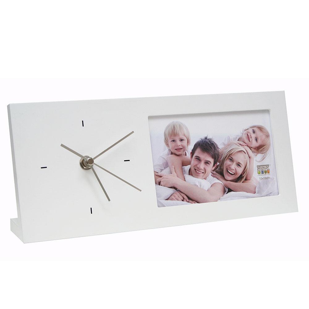 Fotorahmen mit Uhr