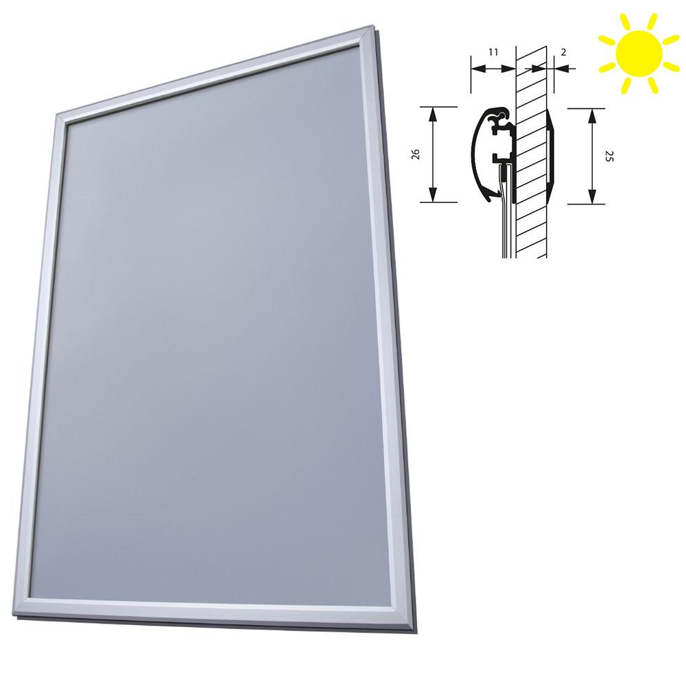 Fenster-Klapprahmen doppelseitig, 25 mm
