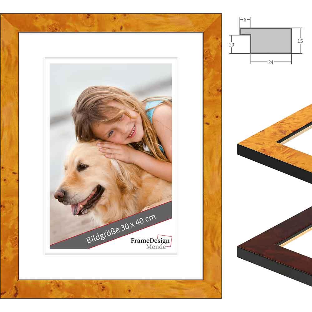 Holz Bilderrahmen Dogo