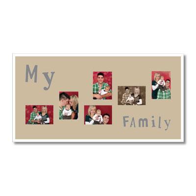 """Themen-Passepartout """"Family"""""""
