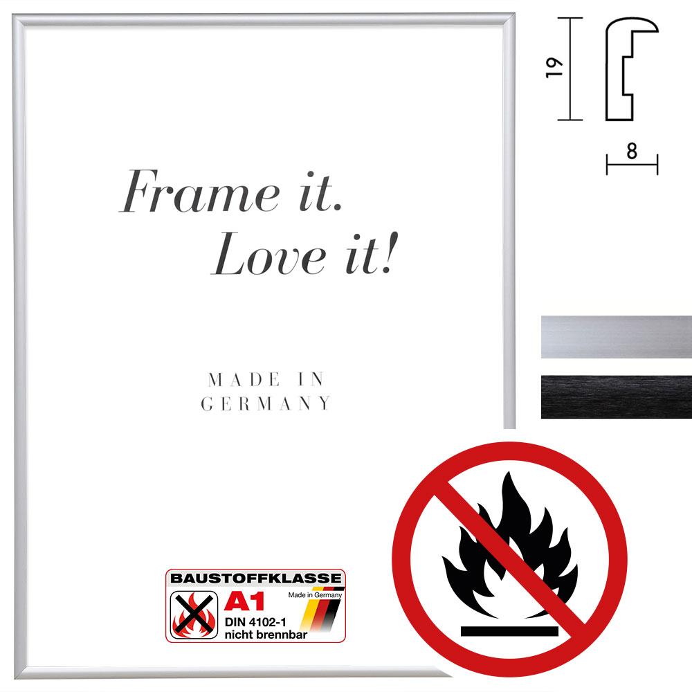 Klassifizierter Standard A1 Brandschutzrahmen Econ rund