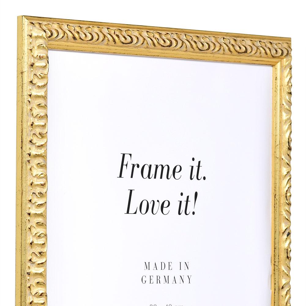 Barockrahmen Rémelfing 40x60 | gold | Normalglas