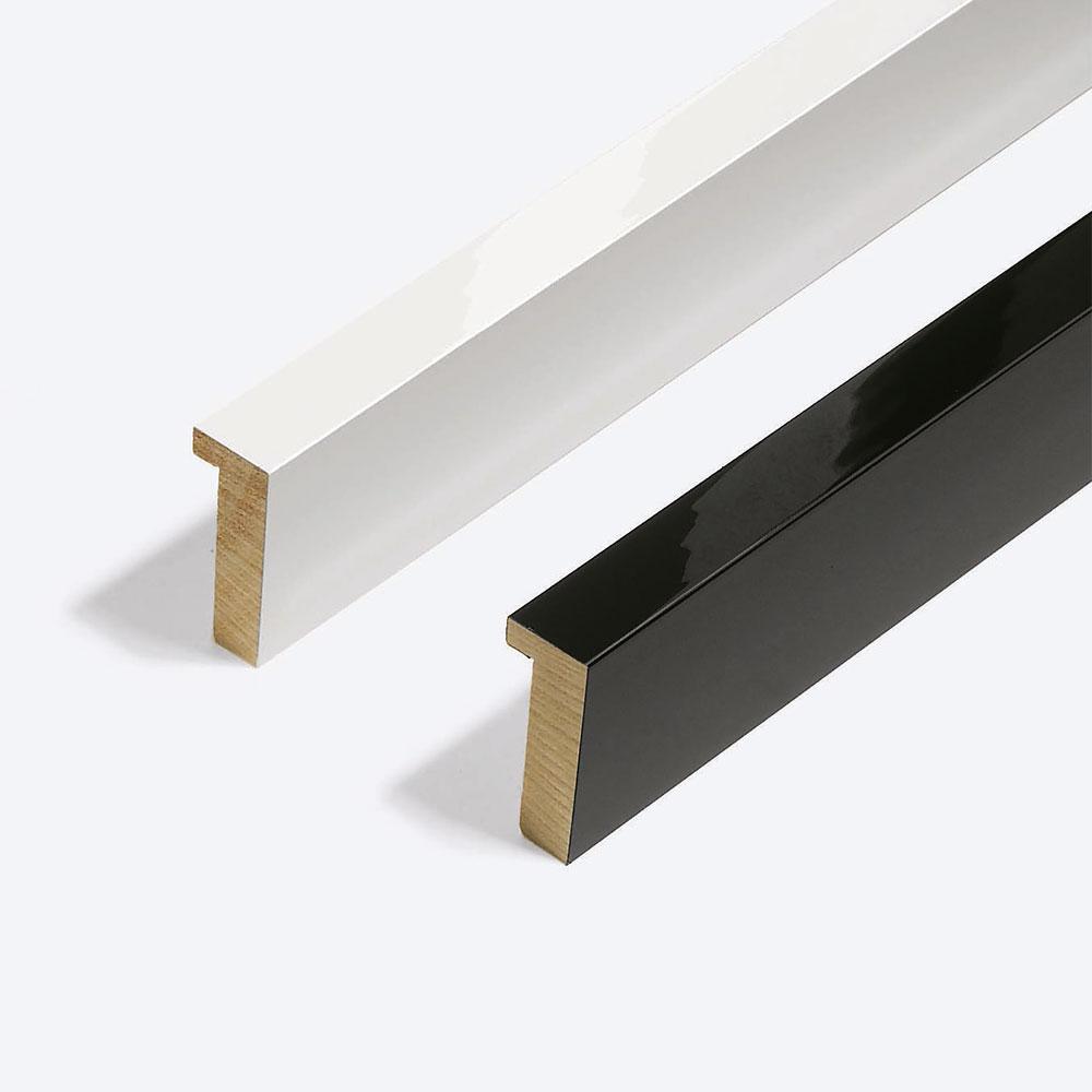 Holzrahmen Sonderzuschnitt, Matrix B&W 20x52