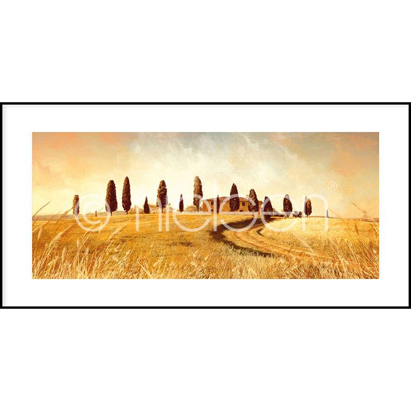 """Gerahmtes Bild """"Landscape Italy"""" mit Alurahmen C2"""