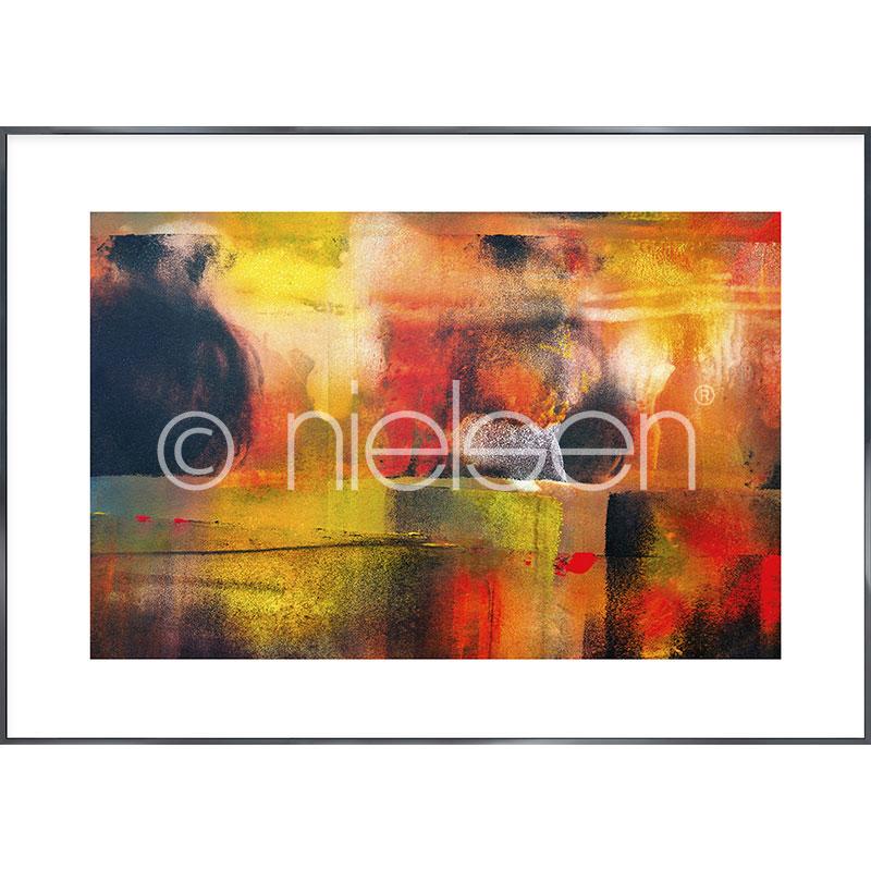 "Gerahmtes Bild ""Abstract"" mit Alurahmen Alpha"