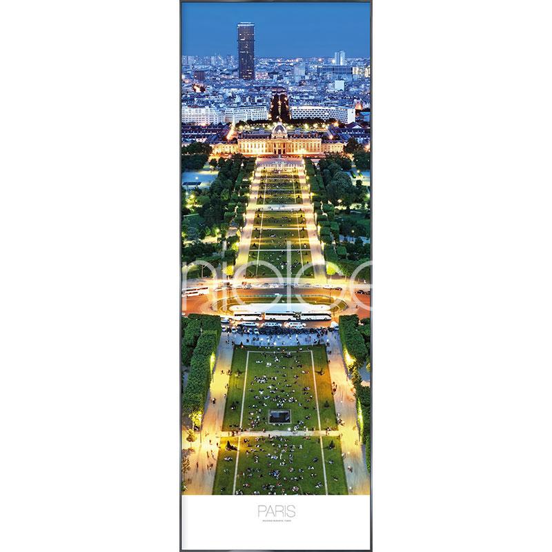"""Gerahmtes Bild """"Champs de Mars Parc"""" mit Alurahmen Alpha"""