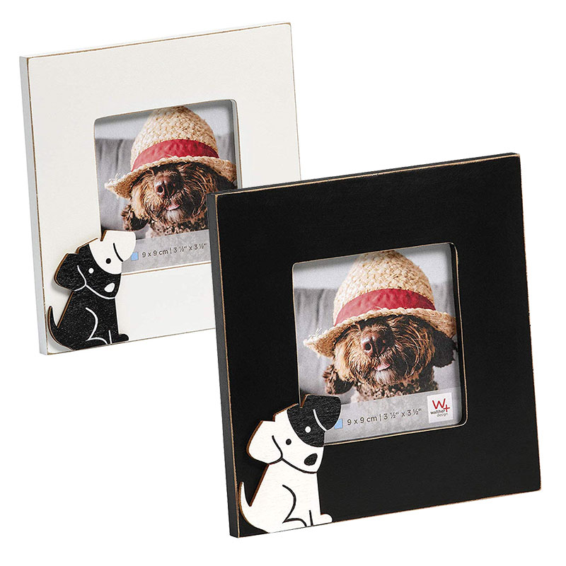 Cats&Dogs Fotorahmen 9x9 cm - Hund