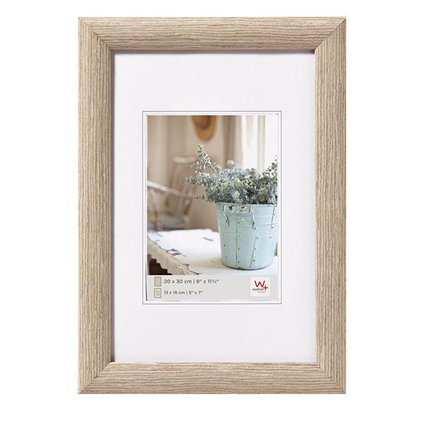 walther holz bilderrahmen interieur 40x60 cm grau normalglas. Black Bedroom Furniture Sets. Home Design Ideas