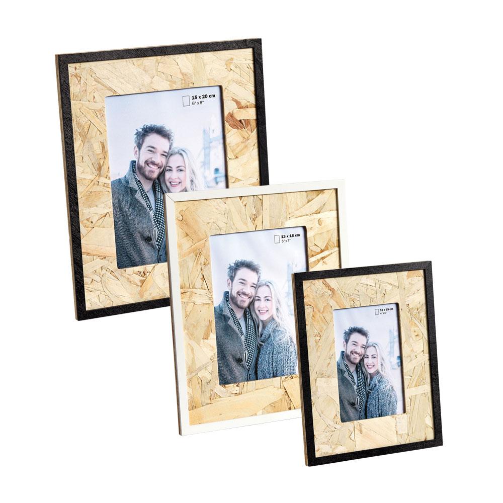 Holz-Fotorahmen CHIP
