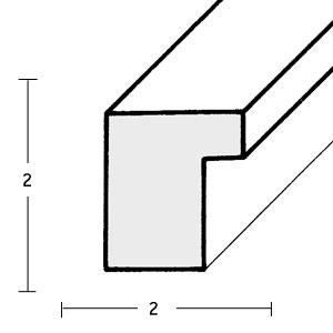 klueber gebira holzrahmen santiago 20x30 rohleiste esche leerrahmen ohne glas r ckwand. Black Bedroom Furniture Sets. Home Design Ideas