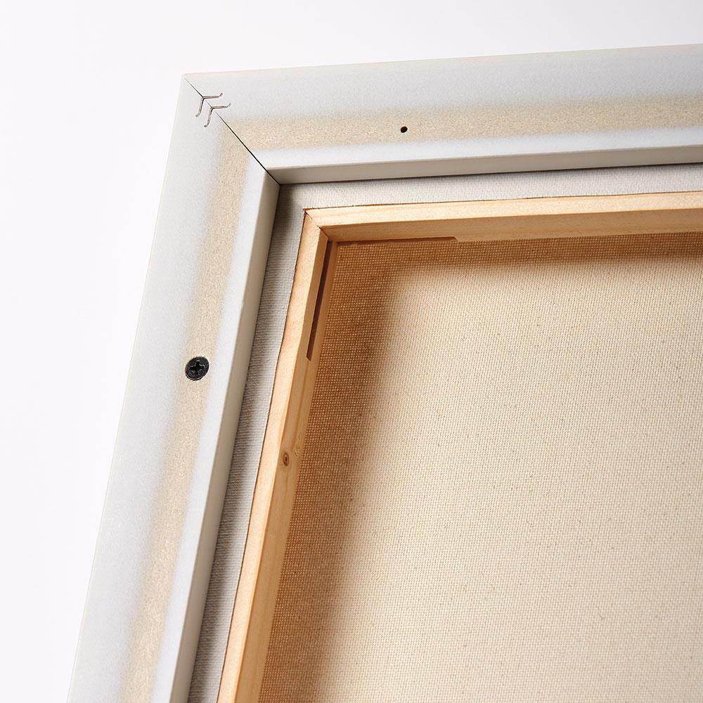 walther schattenfugenrahmen aus kunststoff 20x20 cm schwarz leerrahmen ohne glas r ckwand. Black Bedroom Furniture Sets. Home Design Ideas